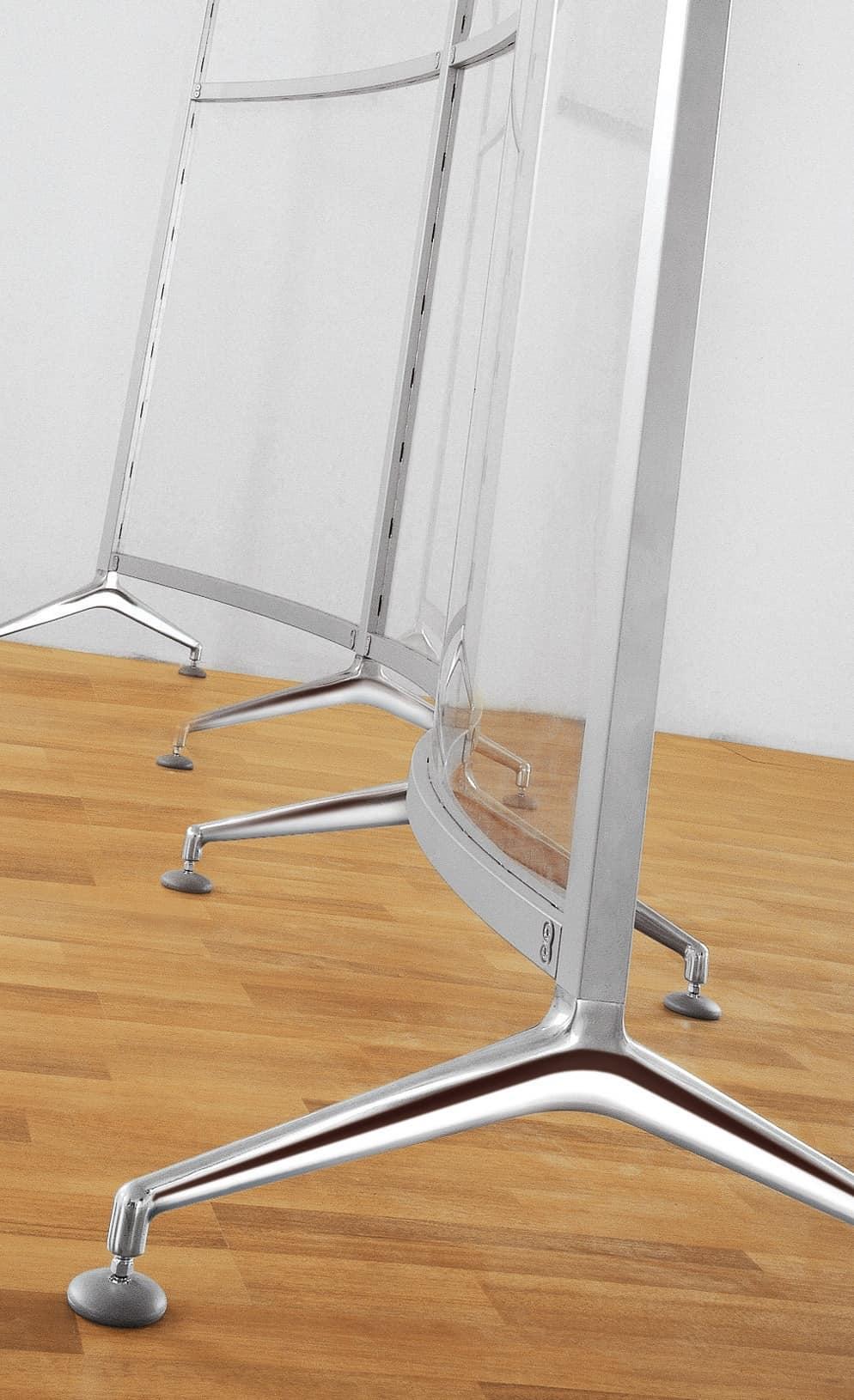 Archimede 2, Pareti divisorie estremamente flessibili per ufficio
