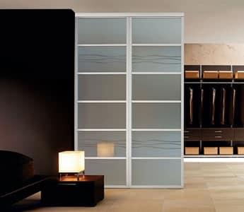 Sistemi open space ares parete divisoria - Parete divisoria casa ...