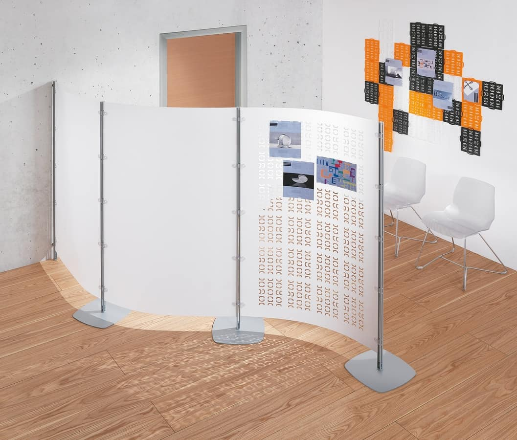 Pannelli divisori attrezzabili modulari per uffici for Divisori per ufficio