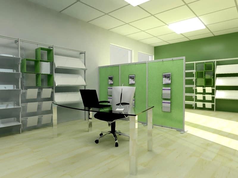 Complementi per uffici pubblici Pareti Divisorie ufficio IDF