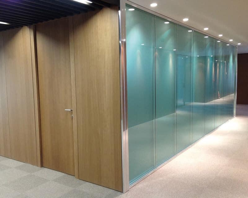 ... divisoria, doppio vetro, serigrafato, ideale per uffici  IDFdesign