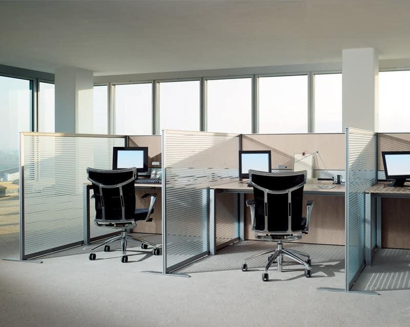 pannelli divisori per ufficio fonoassorbenti idfdesign