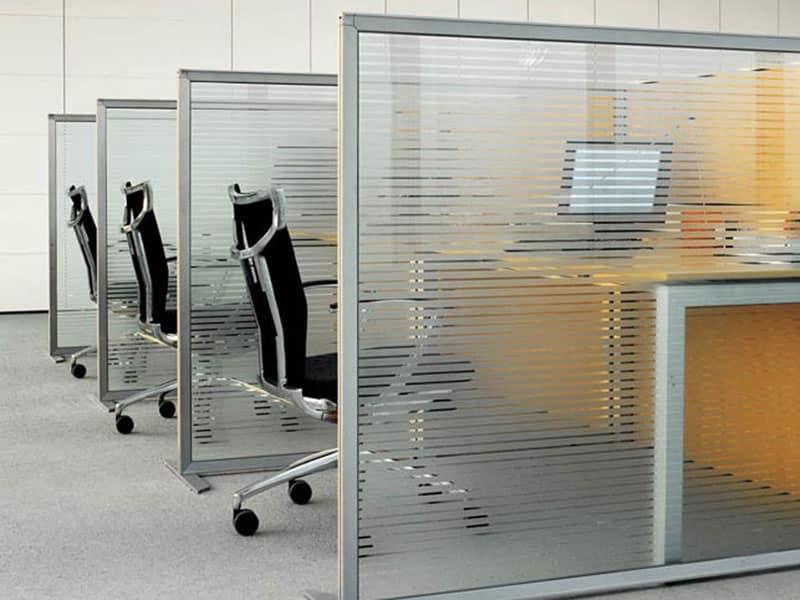 Pannelli separatori da ufficio