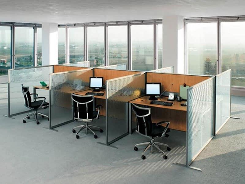 Pannelli divisori per ufficio, fonoassorbenti | IDFdesign