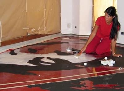 resina per pavimenti cantina