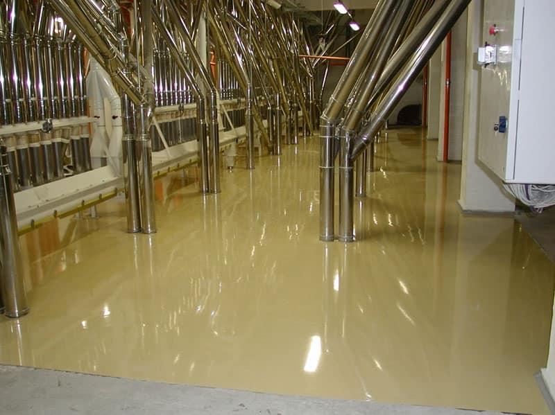 Pavimenti in resina industriali, Pavimento resistente all'usura, impermeabile, per negozi