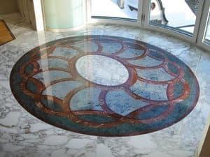 Immagine di Pavimento 002, pavimento con motivo geometrico