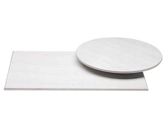 Top.M 824, Piani per tavoli, in materiale impermeabile