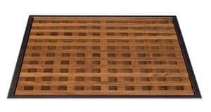 Pianolegno, Piano per doccia in legno teak, a forma di listelli