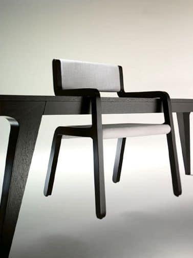 MOKI, Sedia con braccioli agganciabile al tavolo
