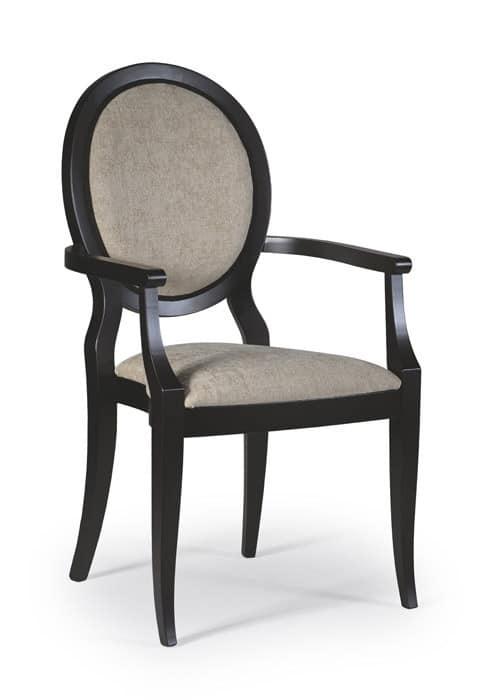 Capotavola cindy sedia capotavola per ristoranti sedia for Poltroncine sala da pranzo