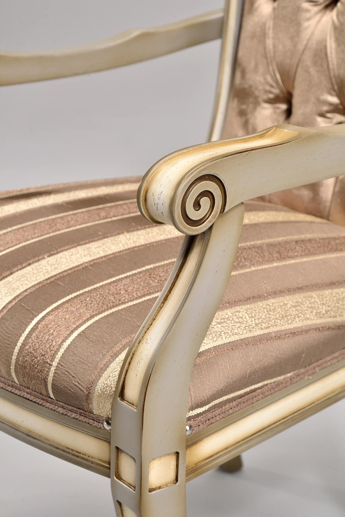 Sedia classica in faggio, vari colori, per camera da letto | IDFdesign