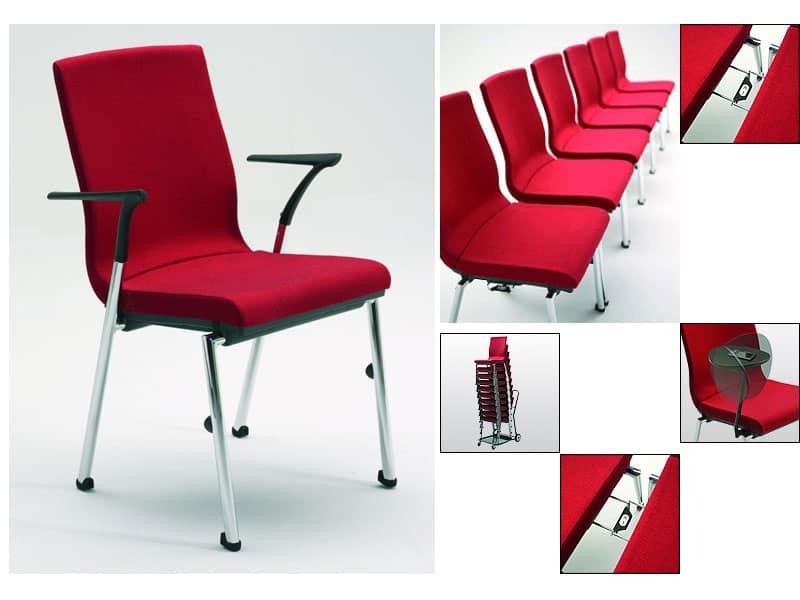 Flair 17 1a sedia lineare cocktail bar idfdesign for Sedia design srl