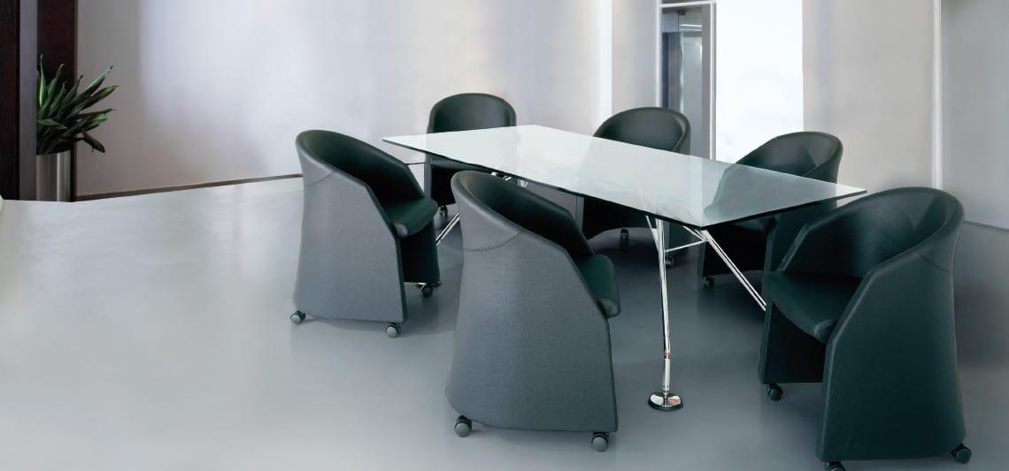 CLUB, Poltroncina  avvolgente, per riunione e visitatori ufficio