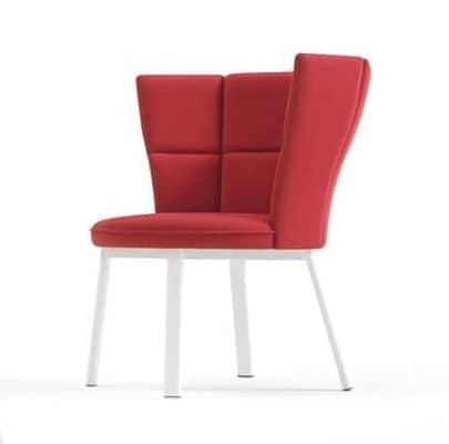 Sector P, Poltrona lounge confortevole, tessuto elastico, per la casa