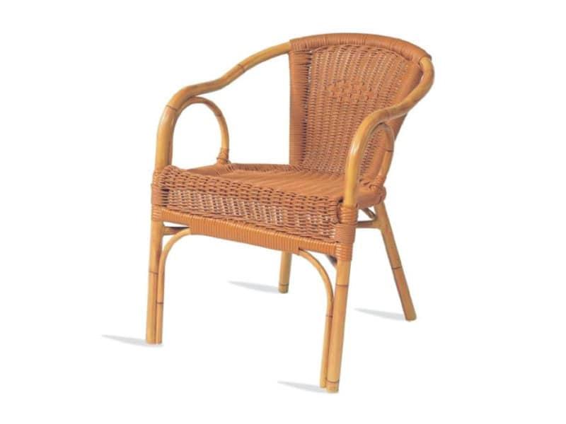 PL 403, Sedia con braccioli, seduta e schienale in xiloplast