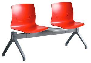 Slot PG, Seduta in tecnopolimero su barra per area attesa