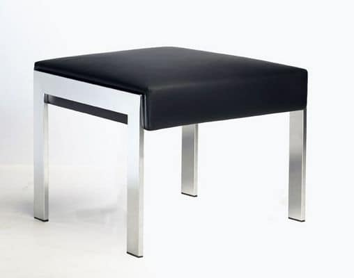Sgabello Pelle Trapuntata Marsiglia : Panche modulari you³ panca