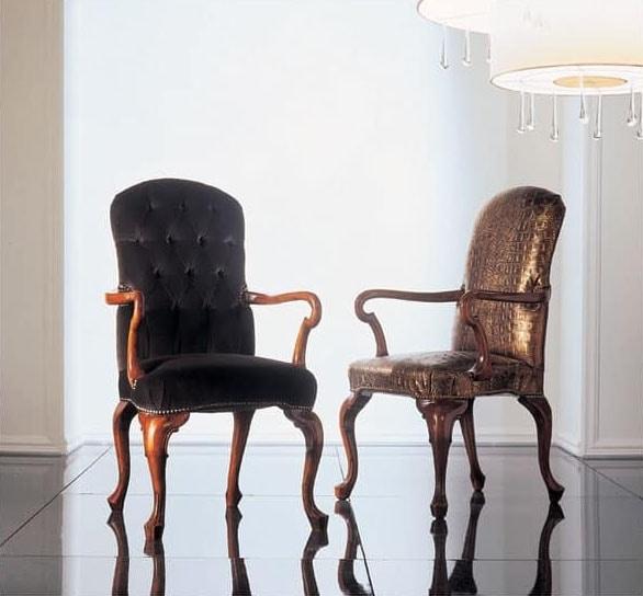 110p poltroncine in legno salotto idfdesign for Poltroncine salotto design