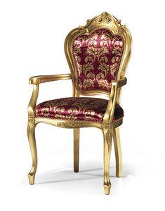 1322/A, Sedia capotavola classica di lusso