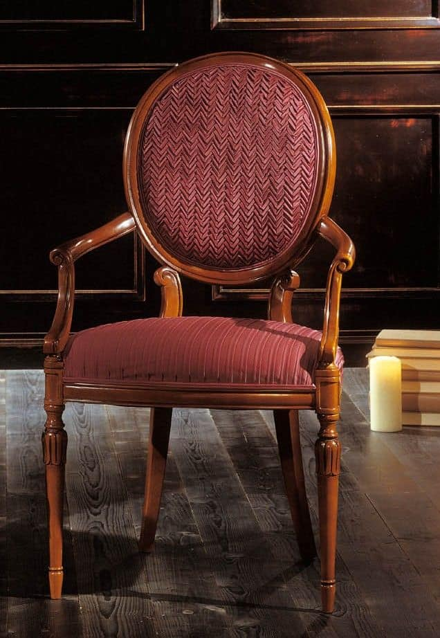 Capotavola in legno di faggio massello seduta e schienale - Sedie capotavola ...