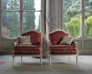 Alice poltrona, Poltrona in stile Luigi XVI
