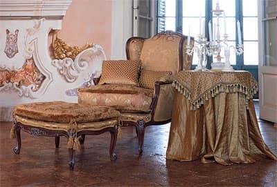 Poltrona elegante anna poltrona for Classica stoffa inglese