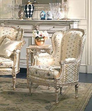 poltrona elegante stile xviii secolo per suite d 39 albergo