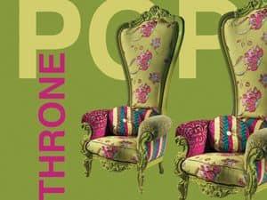 Immagine di B/110/13 The Throne, poltrone in legno