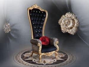 Immagine di B/110/18 The Throne, poltrone decori preziosi