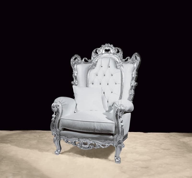 Imbottiti divani poltrone classiche ed in stile in stile e for Poltrone barocche