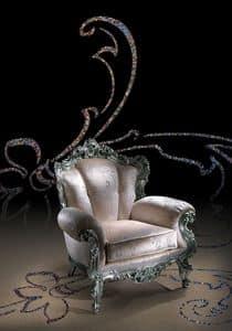 Conversation 105, Poltrona imbottita in stile classico di lusso
