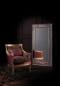 Conversation 92, Poltrona con seduta e schienale imbottiti, stile classico