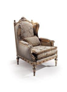 Conversation 96, Poltrona classica con seduta e schienale imbottiti