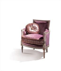 Conversation 99, Poltrona classica con seduta e schienale imbottiti