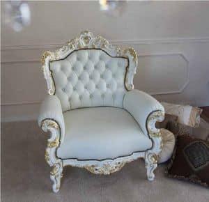 La Blanche, Poltrona classica per ambienti residenziali