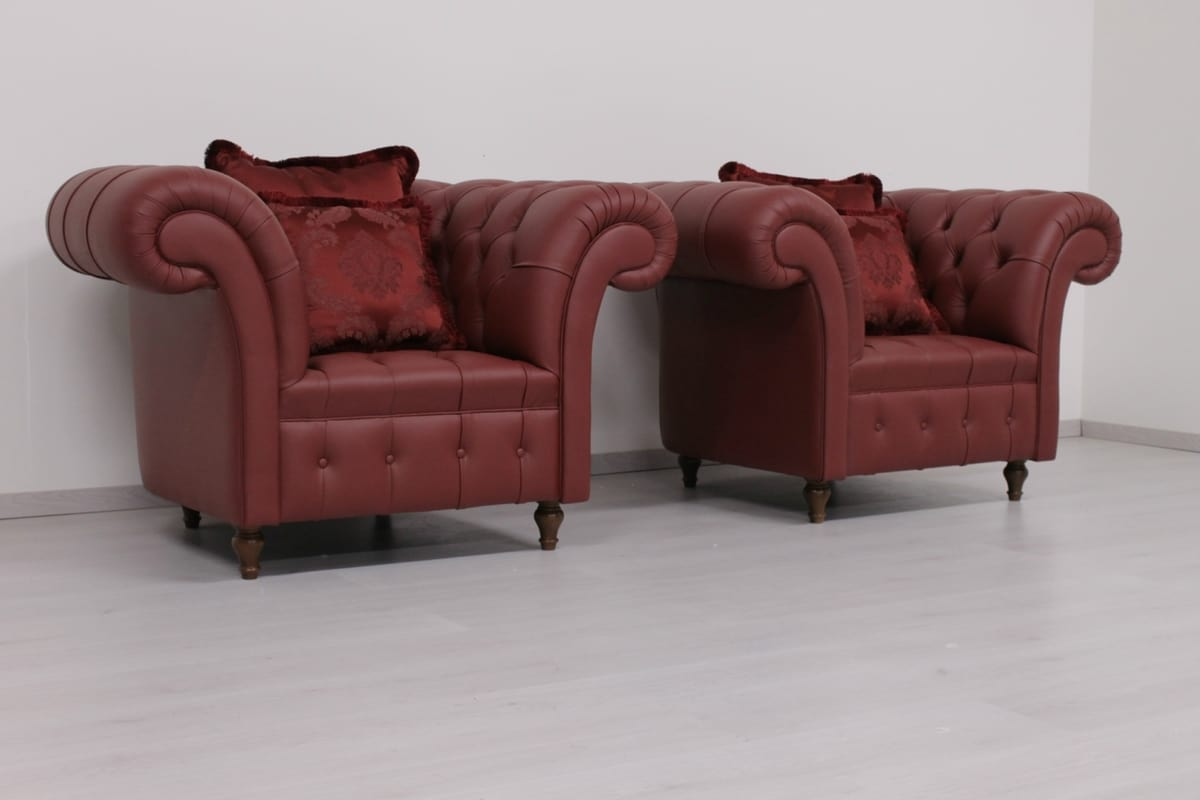 Poltrona in stile Chesterfield inglese | IDFdesign