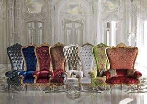 The Throne, Trono in stile classico di lusso