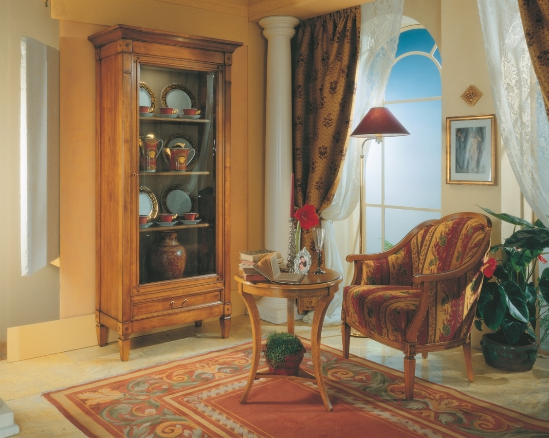 Villa Borghese poltrona 1374, Poltrona stile Directoire