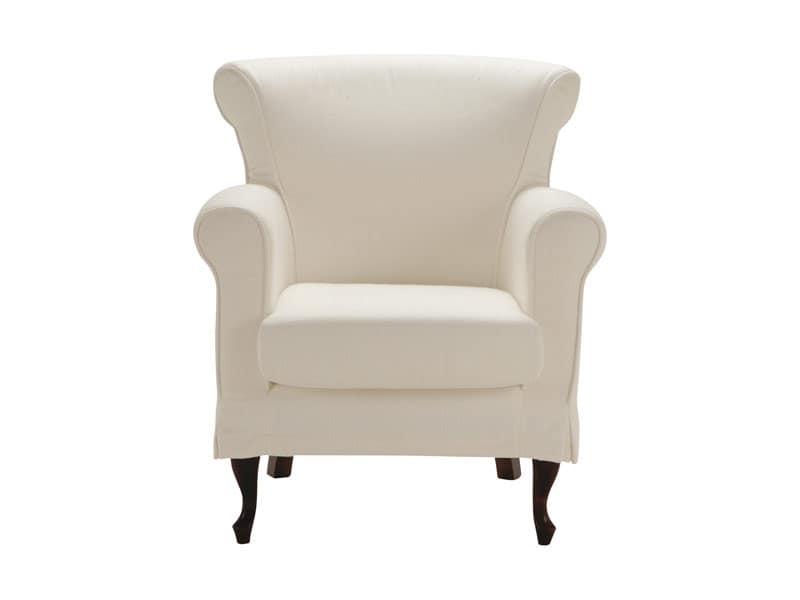 Imbottiti divani poltrone classiche ed in stile idf for Poltrone per studio