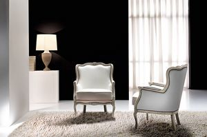 Aston, Poltrona classica per ambienti glamour ed eleganti