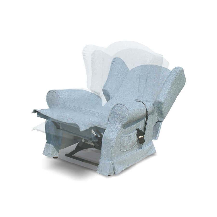 Poltrona relax motorizzata per salotto idfdesign for Poltrone relax in legno