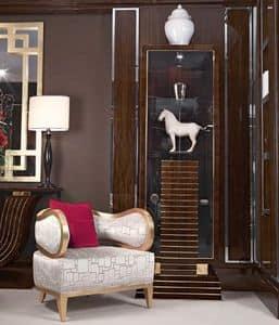 PT20.46, Poltrona confortevole e elegante, in legno, per albergo