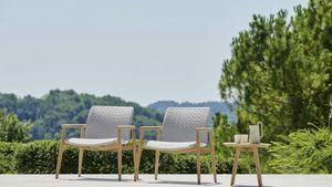 Lapis poltrona lounge, Poltrona per esterni con seduta larga