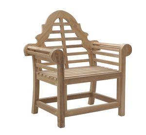 Vittoria 0305, Poltrona da giardino in legno