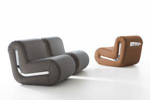 Boomerang, Poltrona design, modulare