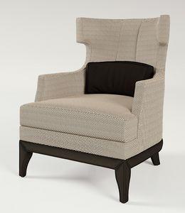 PALAIS-ROYAL Poltrona, Poltrona con seduta larga e schienale alto