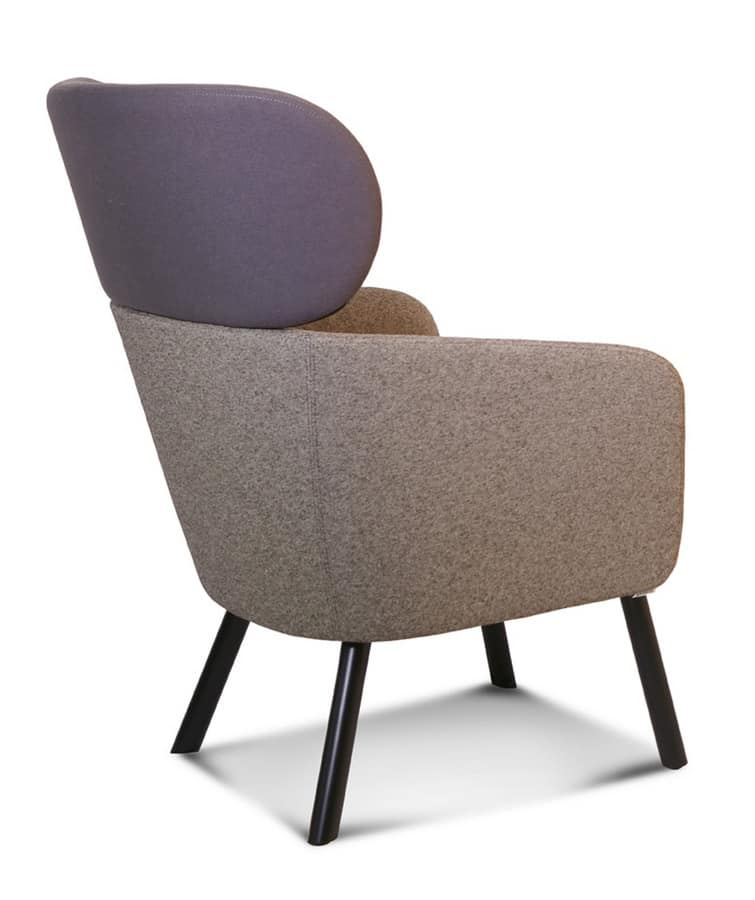 ART. BALÙ Lounge, Poltrone massello