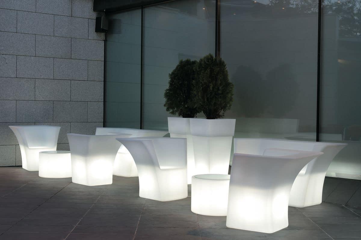 Cairo poltrona, Poltrona in resina adatta per uso interno e esterno - IDFdesign