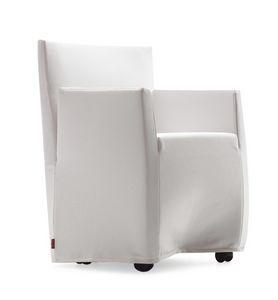 Capri Jolly, Poltrona sfoderabile con schienale reclinabile